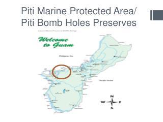 Piti Marine Protected Area/ Piti Bomb Holes Preserves