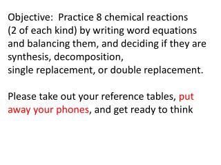 Number One Sodium  chloride  solution +  lead (II) acetate  solutions react