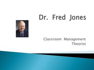 Dr.  Fred  Jones