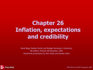Chapter 26 Inflation, expectations and credibility