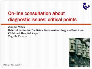 On-line consultation about diagnostic issues: critical points