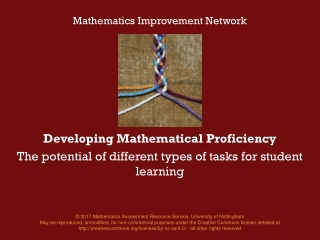 Problem Solving: Finding the Mathematics Within the Task
