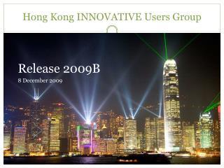 Hong Kong INNOVATIVE Users Group