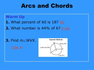 Arcs and Chords