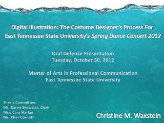 Digital Illustration: The Costume Designer's Process For