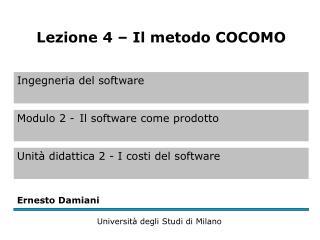 COCOMO 81 1