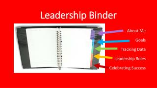 Leadership Binder