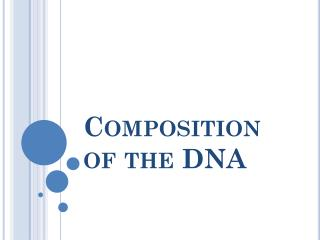 Composition  of  the  DNA