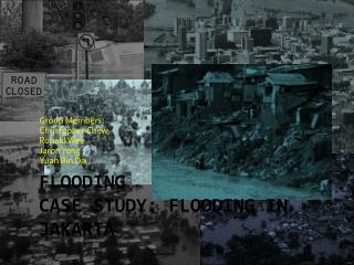 Flooding Case Study: Flooding in Jakarta