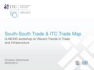 South-South Trade & ITC Trade Map