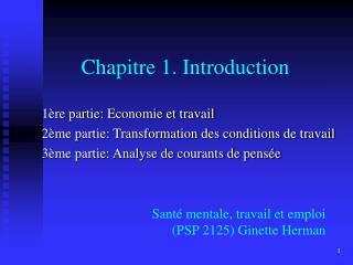 Chapitre 1. Introduction
