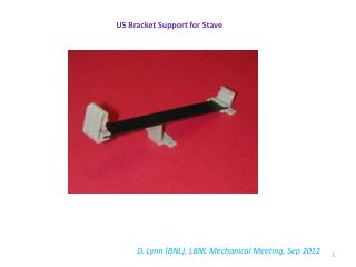 US Bracket Support for Stave