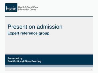Present on admission