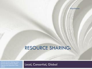 Resource Sharing: