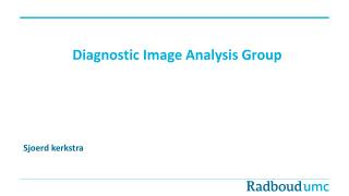Diagnostic Image Analysis Group