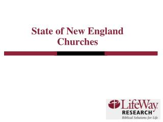 State of New England Churches