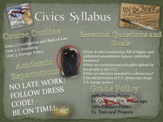 Civics  Syllabus