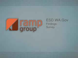 ESD.WA.Gov Findings:  Survey