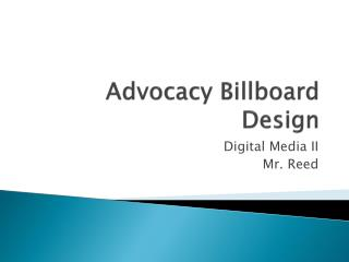 Advocacy Billboard Design