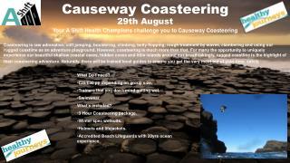 coasteering poster Keelan