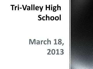 Tri-Valley High School