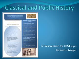 Classical and Public History