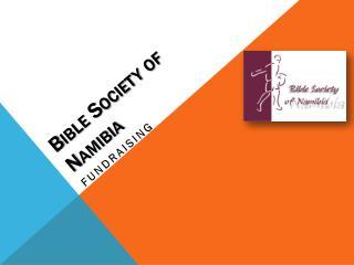 Bible Society of Namibia