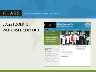 ClASS  TOOLKIT:  WEB-BASED SUPPORT