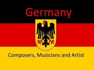 Composers, Musicians and Artist