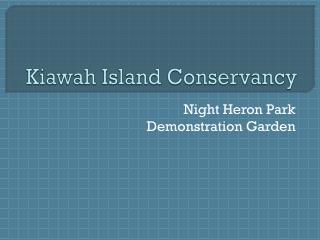 Kiawah Island Conservancy