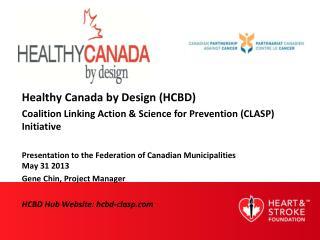 Healthy Canada by Design (HCBD)