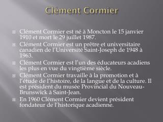 Clément Cormier