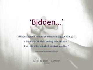 'Bidden…'