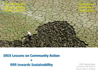SREX Lessons on Community Action + RRR towards Sustainability