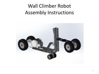 Wall Climber Robot Assembly Instructions