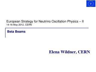 Elena Wildner, CERN
