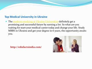 Top Medical University in Ukraine