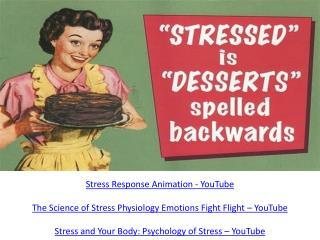 Stress Response Animation - YouTube