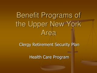 Benefit Programs of the Upper New York Area