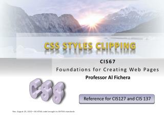 CSS STYLES CLIPPING