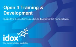 Welcome to the world of Open 4 Training & Development...