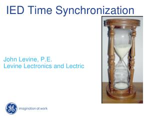 IED Time Synchronization