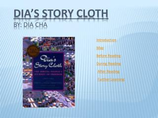 Dia's  Story Cloth By:  Dia  Cha