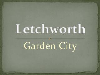 Letchworth