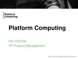 Platform Computing