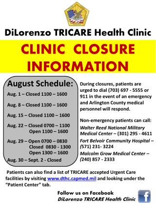 DiLorenzo  TRICARE Health Clinic