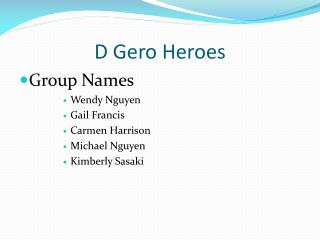 D  Gero  Heroes