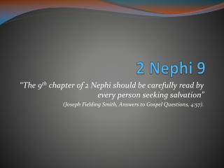 2 Nephi 9