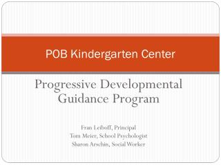 POB Kindergarten Center