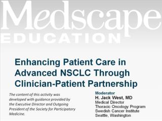 Enhancing Patient Care in Advanced NSCLC Through Clinician-Patient Partnership